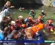 Reportage de la Civière plongée du SSF