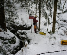 Doubs en hivernale